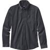 Patagonia Bluffside Cord overhemd en blouse lange mouwen Heren grijs